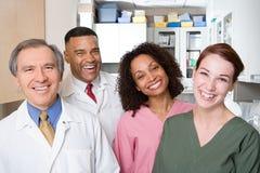 牙医和牙齿护士 库存图片