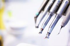 牙医工具 免版税图库摄影