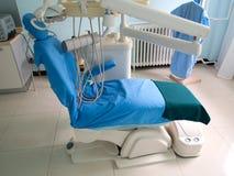 牙医椅子 免版税库存照片