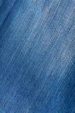 牛仔布材料纹理 免版税库存图片