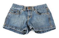 牛仔布短裤 库存图片
