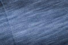 牛仔布织品 免版税图库摄影