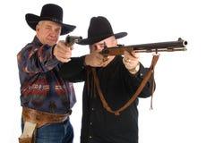 牛仔更旧二 免版税库存图片
