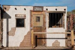 牛仔监狱老西部 库存图片