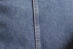 牛仔裤为时尚样式构造 免版税库存图片