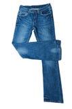 牛仔裤对 图库摄影