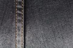 牛仔裤纹理 库存照片