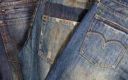 牛仔裤 免版税库存图片