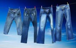 牛仔裤 库存图片