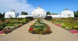 水牛城和伊利县植物园 免版税库存照片