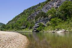水牛城河,阿肯色 免版税图库摄影