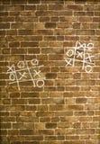 黄牛墙壁 免版税库存图片