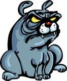 牛头犬动画片 库存例证