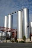 牛奶工厂 库存图片