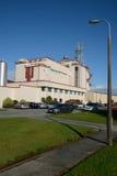 牛奶工厂 库存照片