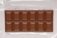 牛奶巧克力 库存照片