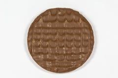牛奶巧克力digestives 免版税库存图片