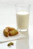 牛奶早晨 免版税图库摄影