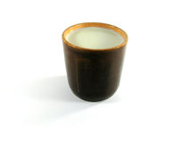 牛奶杯子 库存图片