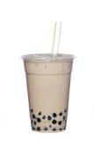 牛奶珍珠茶 免版税库存照片