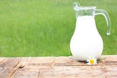 牛奶罐 免版税库存照片