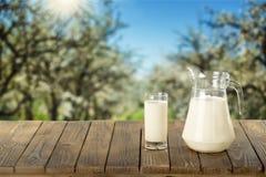 牛奶 免版税图库摄影