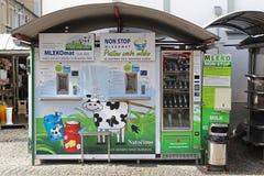 牛奶atm 免版税库存图片