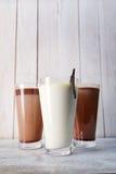 牛奶coctails的图象 库存图片