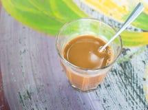 牛奶coffe 免版税库存图片