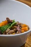牛尾炖煮的食物 图库摄影