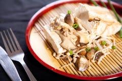 牛排豆腐 免版税库存照片