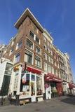 牛排餐厅在阿姆斯特丹 免版税库存图片