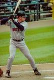 牛油树Hillenbrand,波士顿红袜 免版税库存图片