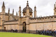 牛津,英国,英国建筑学  库存图片