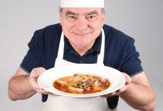 牛肉主厨炖煮的食物 图库摄影
