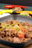牛肉做墨西哥 免版税图库摄影