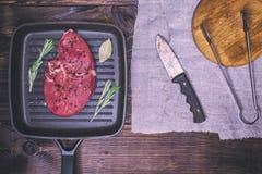 牛肉原始的香料 库存图片