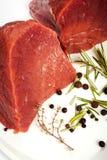 牛肉原始的香料 免版税库存照片