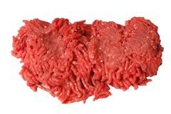 牛肉地面原始 免版税库存图片