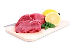 牛肉块牛排 免版税图库摄影