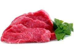 牛肉块牛排 免版税库存照片