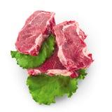 牛肉块肉steacks 库存照片