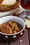 牛肉搬运程序炖煮的食物 免版税库存图片