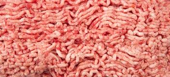 牛肉新陆运 烹调炸肉排和汉堡包 库存照片
