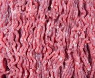 牛肉新陆运 烹调炸肉排和汉堡包 免版税库存照片