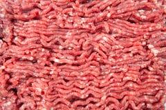牛肉新陆运 烹调炸肉排和汉堡包 免版税库存图片