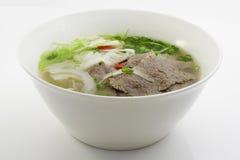 牛肉汤面 免版税图库摄影