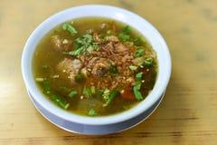 牛肉汤,美味的食物 免版税库存图片