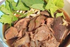 牛肉汤 免版税库存图片