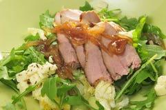 牛肉沙拉 免版税库存照片